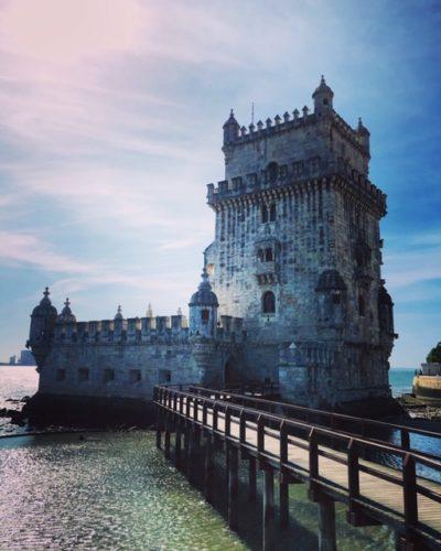 リスボンの世界遺産 ベレンの塔