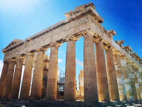 ギリシャ アテネ観光 パルテノン神殿