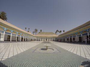 マラケシュ バイア宮殿 イスラム建築を楽しもう
