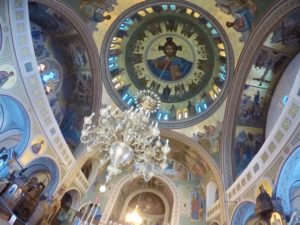 ギリシャ サントリーニ島にある教会