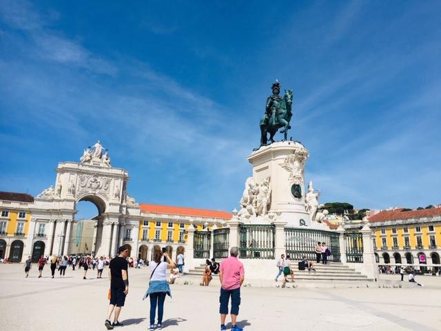 リスボンのおすすめ観光地 コメルシオ広場