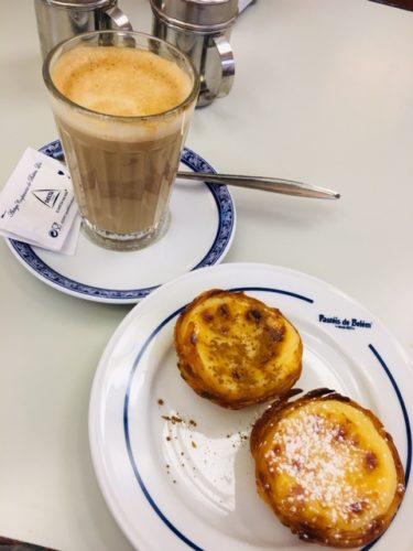 ポルトガルの美味しいエッグタルト屋さん