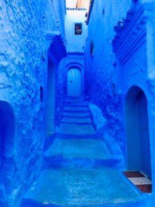 モロッコ青い街シェフシャウエン写真スポット