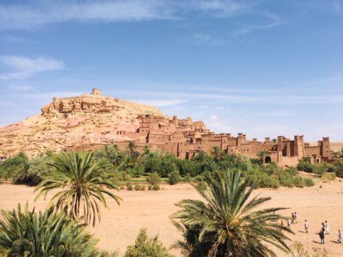 モロッコの世界遺産アイトベンハッドゥ