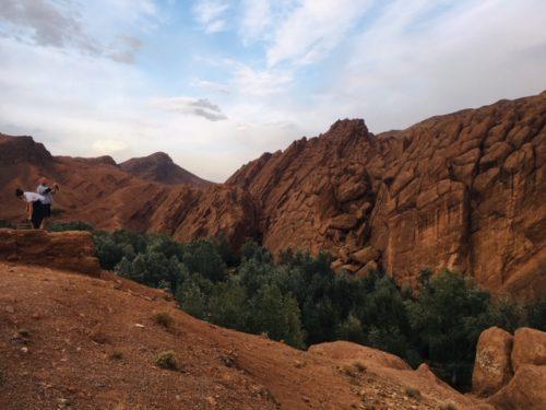 モロッコ砂漠ツアー ダデス渓谷