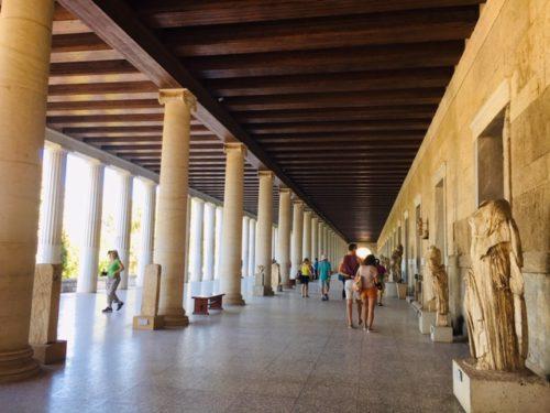 ギリシャ アテネ観光 古代アゴラ