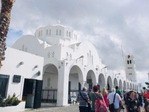 サントリーニ島にある教会