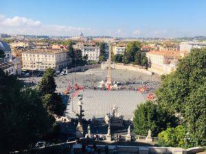 ローマ観光 ポポロ広場