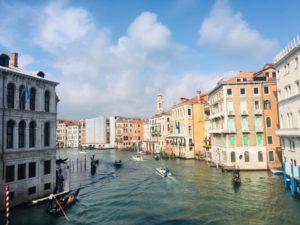 ヴェネツィア観光 カナルグランデ