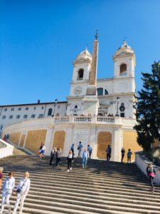 ローマ観光 スペイン広場